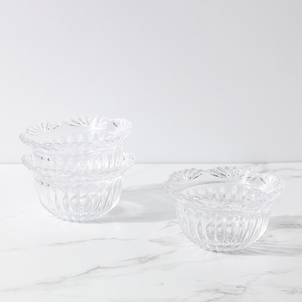 crystal bowl (each)