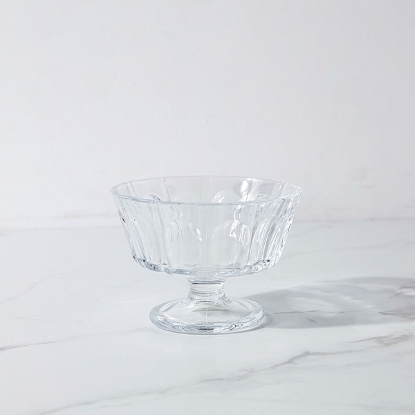 crystal dessert bowl