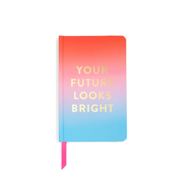 whatcha thinkin' bout? journal, your future looks bright