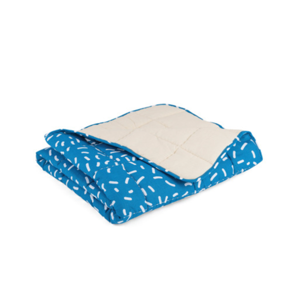 PANTOMIME BABY BLANKET - BLUEBERRY CONFETTI